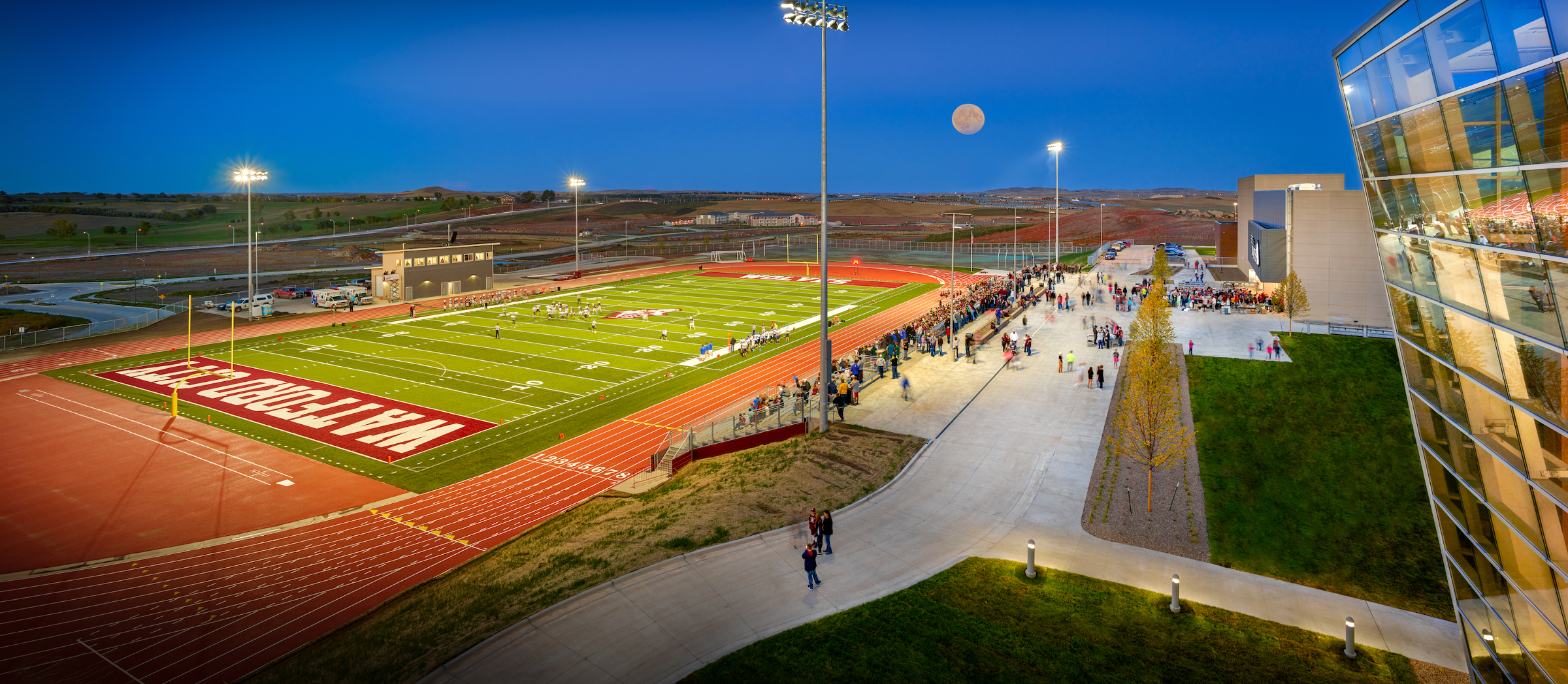 Watford City High School Football Field